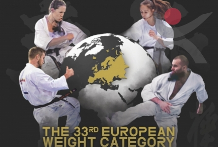 33 Weigh Kyokushin Karate European Championships