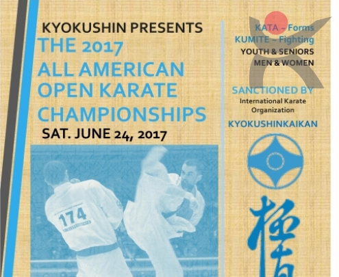 The 2017 All American Open Karate Championships